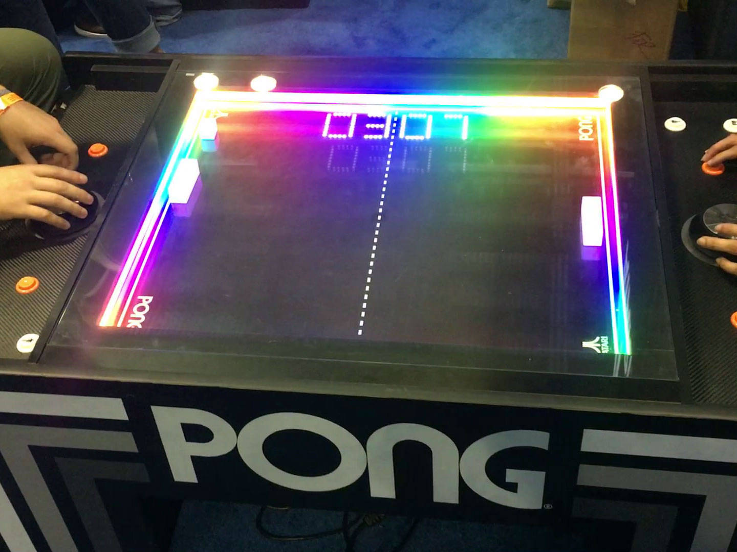 Pong table by atari
