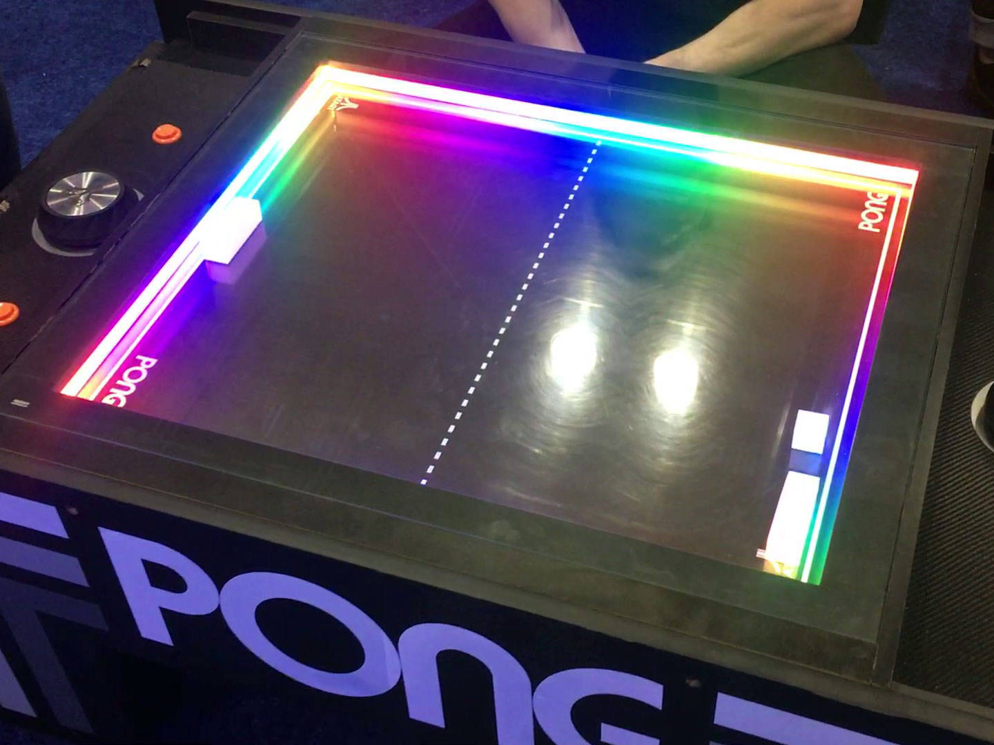Corporate games hire pong