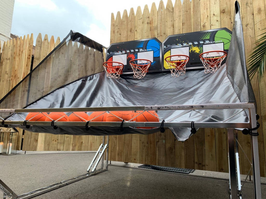 basketball games for hire