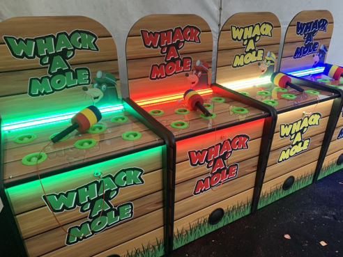 Branded smack a mole game hire