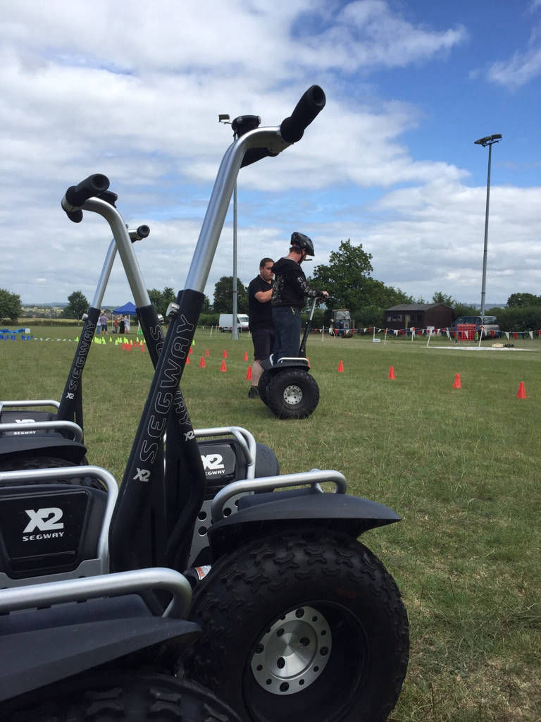 Segway experience hire