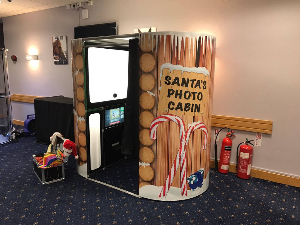 Christmas video booth hire