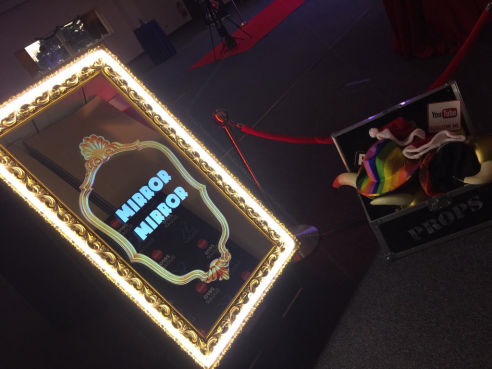 Magic selfie mirror hire
