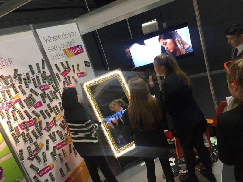 Magic selfie mirror booth hire