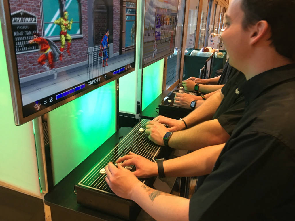 Multi game arcade hire