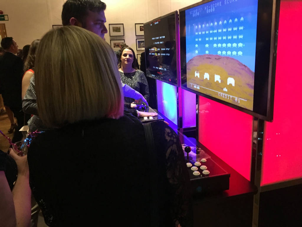 Space invaders arcade game hire