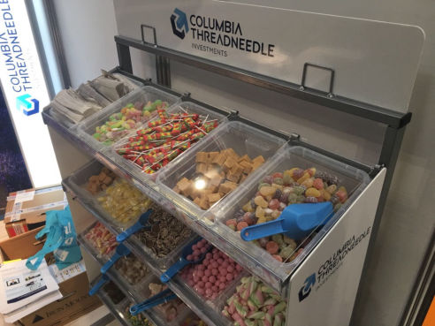 Branded pick n mix stand hire
