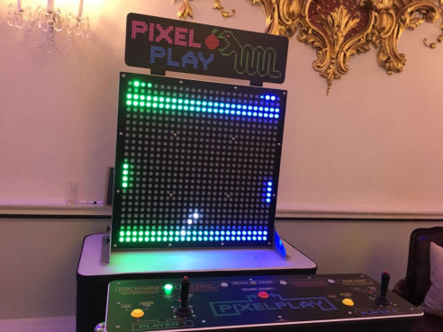 Branded picel play game hire