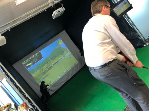 Golf simulator hire