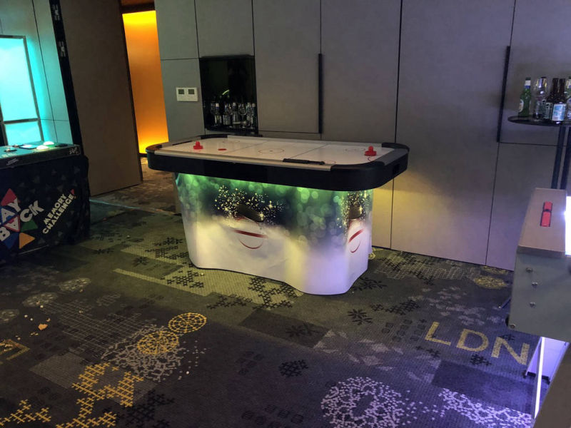 Air hockey table hire service