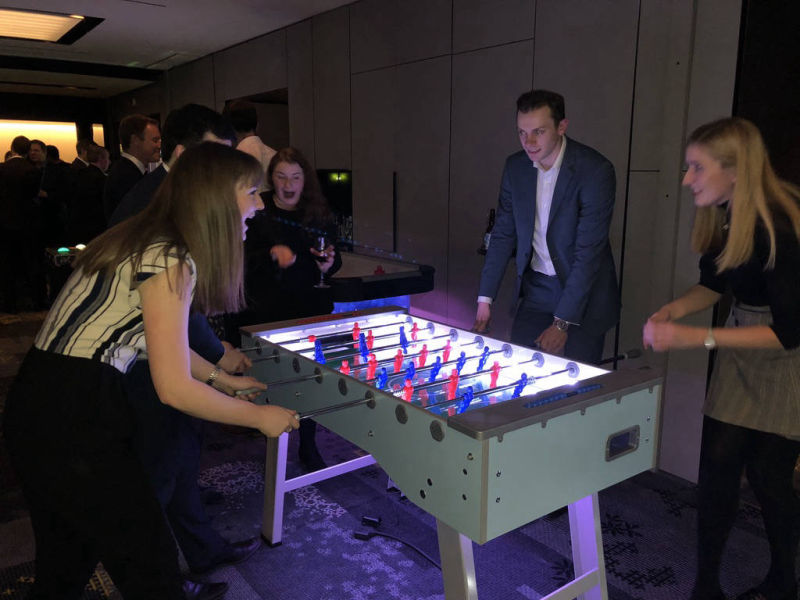 rent a table football table