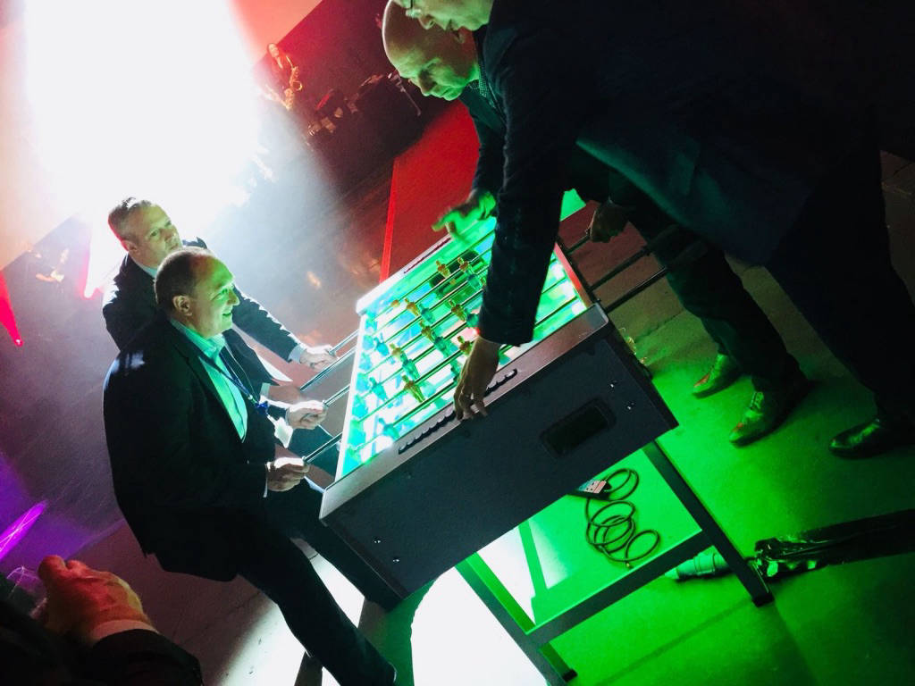 Hire table football for party