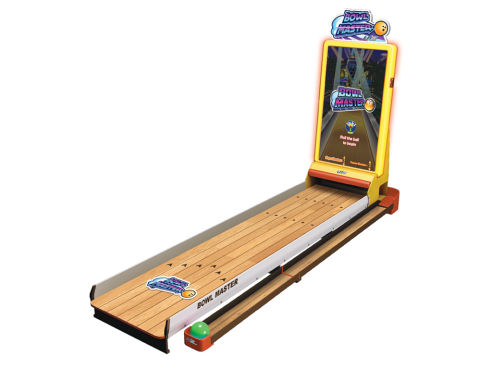 Virtual arcade bowling hire