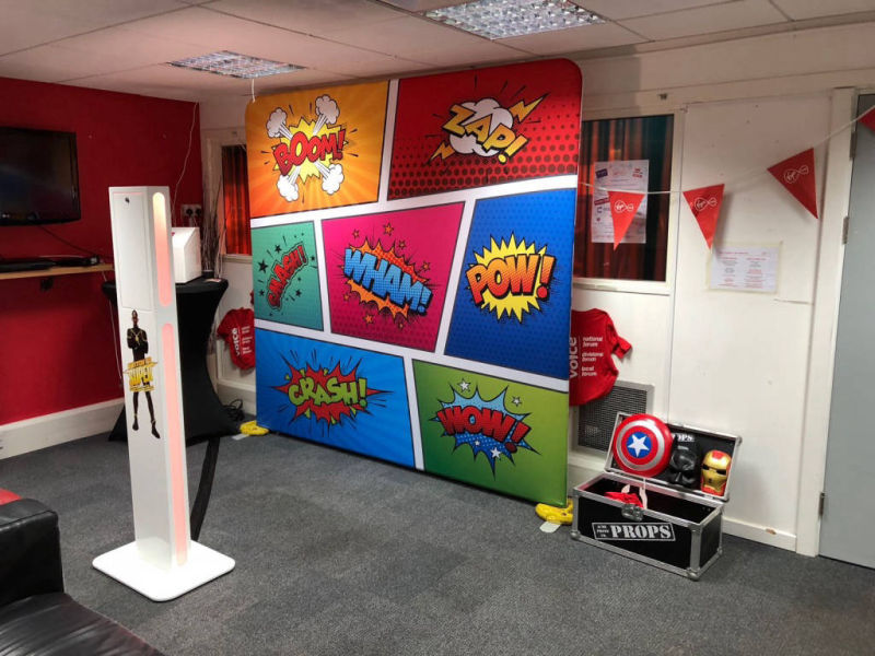 Branded photo booth london