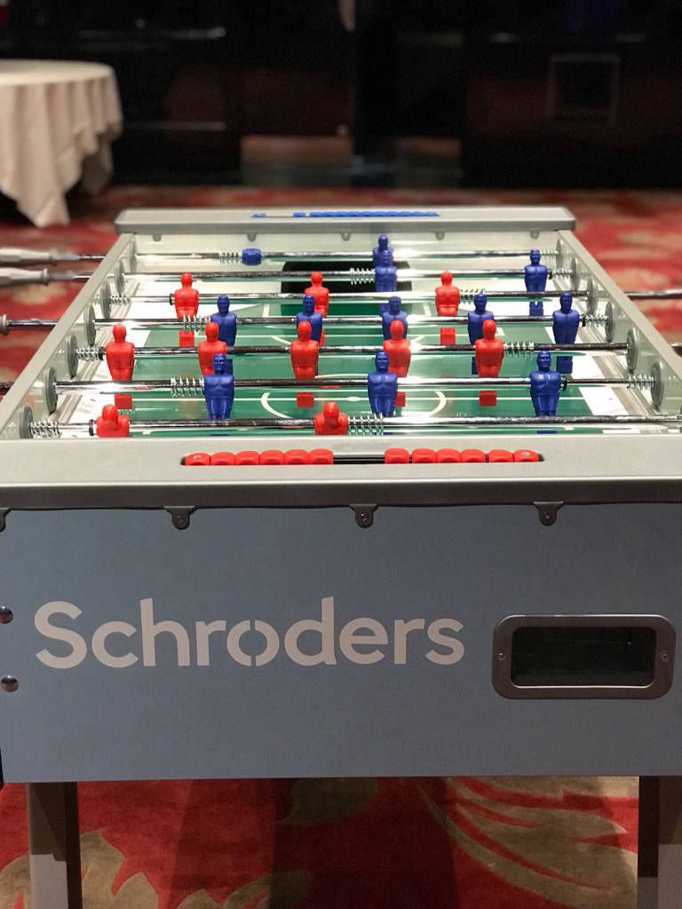 Foosball table hire
