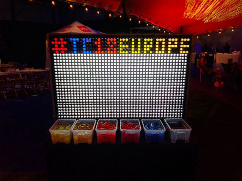 Branded giant light bright hire
