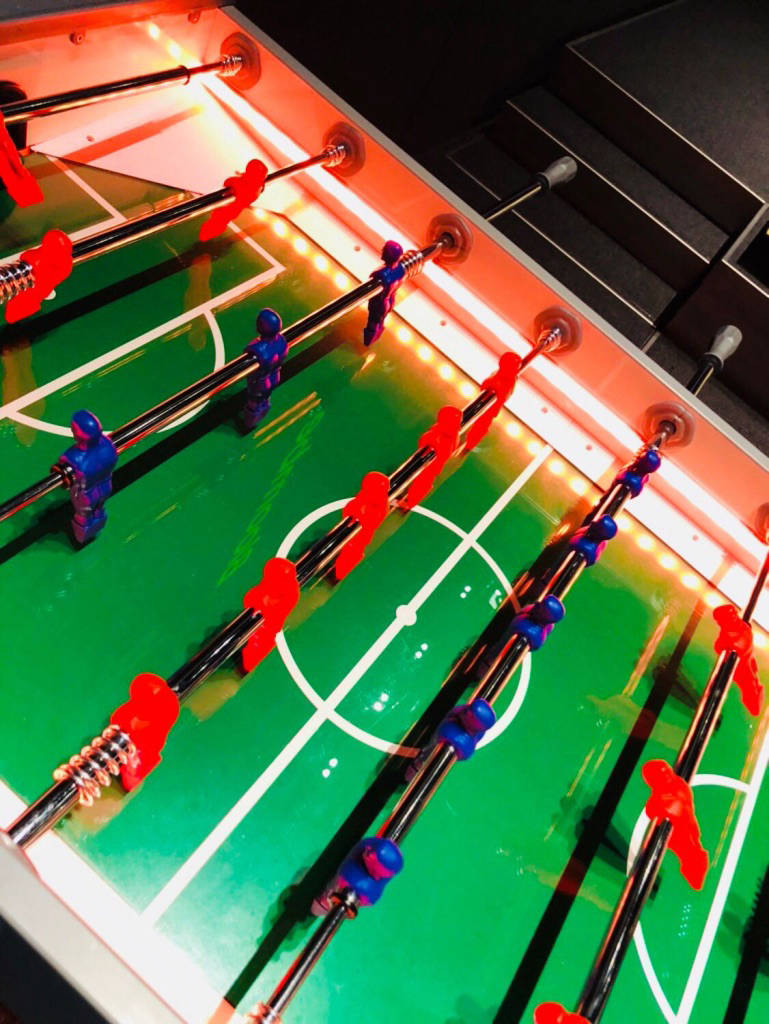 table football tournament hire