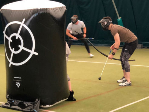 Battlezone archery tag hire