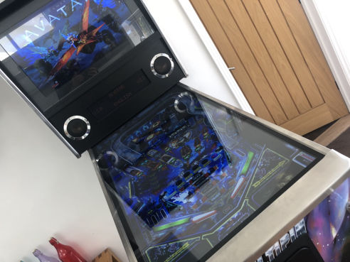 Branded digital pinball machine hire