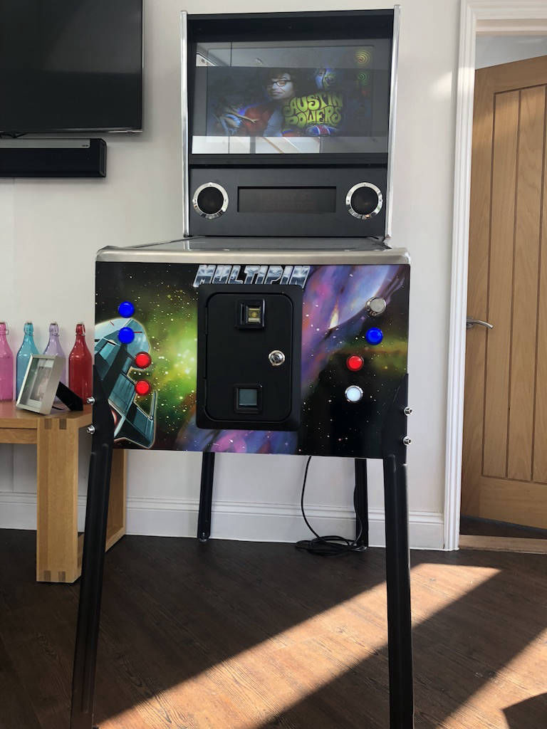 Digital pinball machine