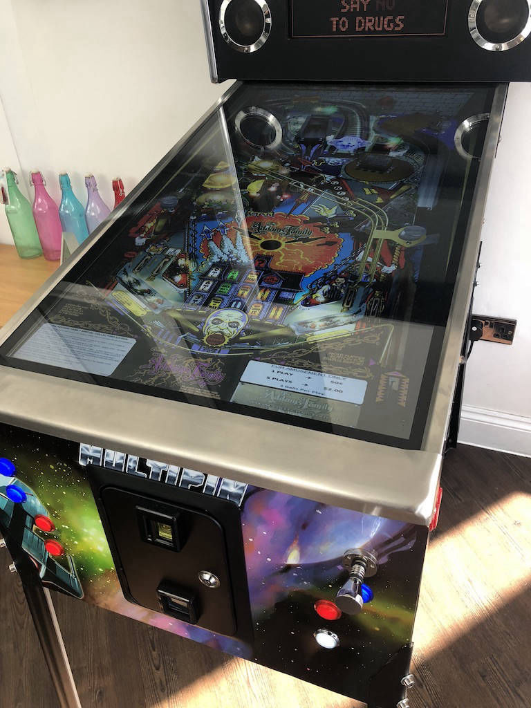 Pinball machines for hire london