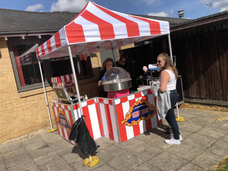 Popcorn & candy floss hire