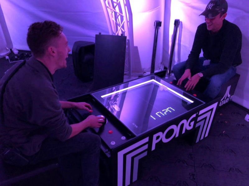 Atari pong table for hire