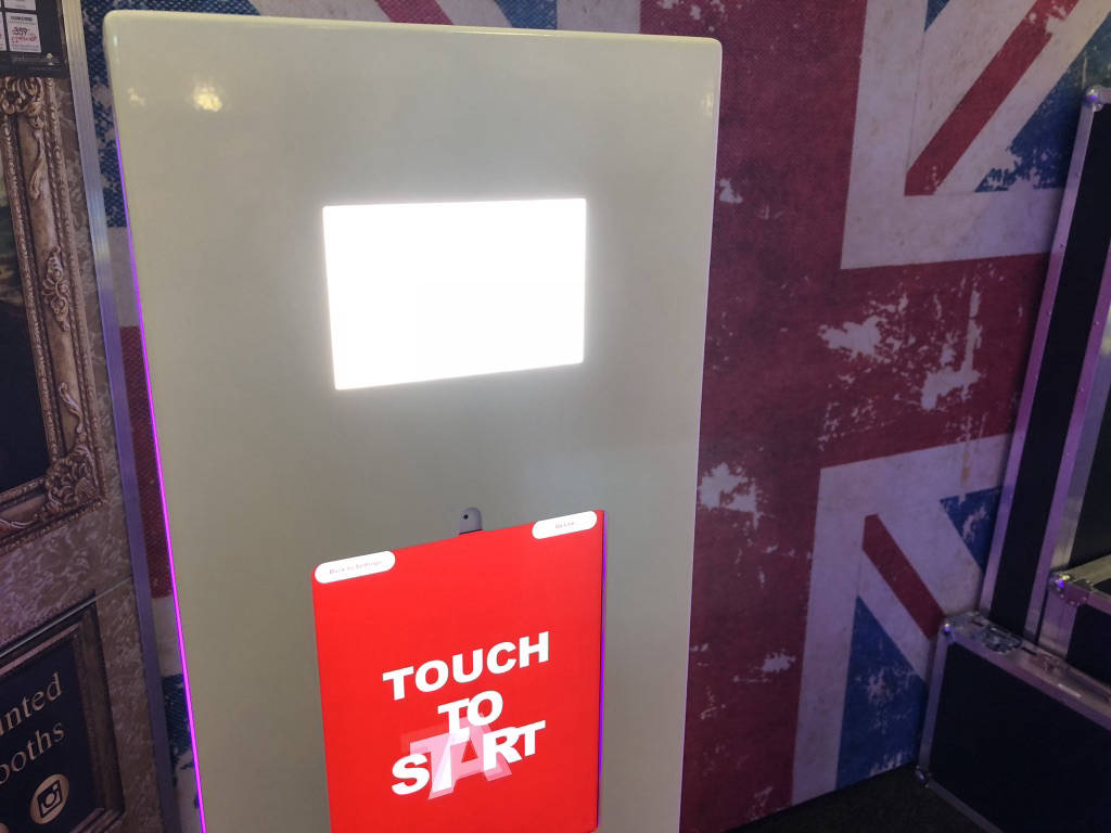 Video booth hire london