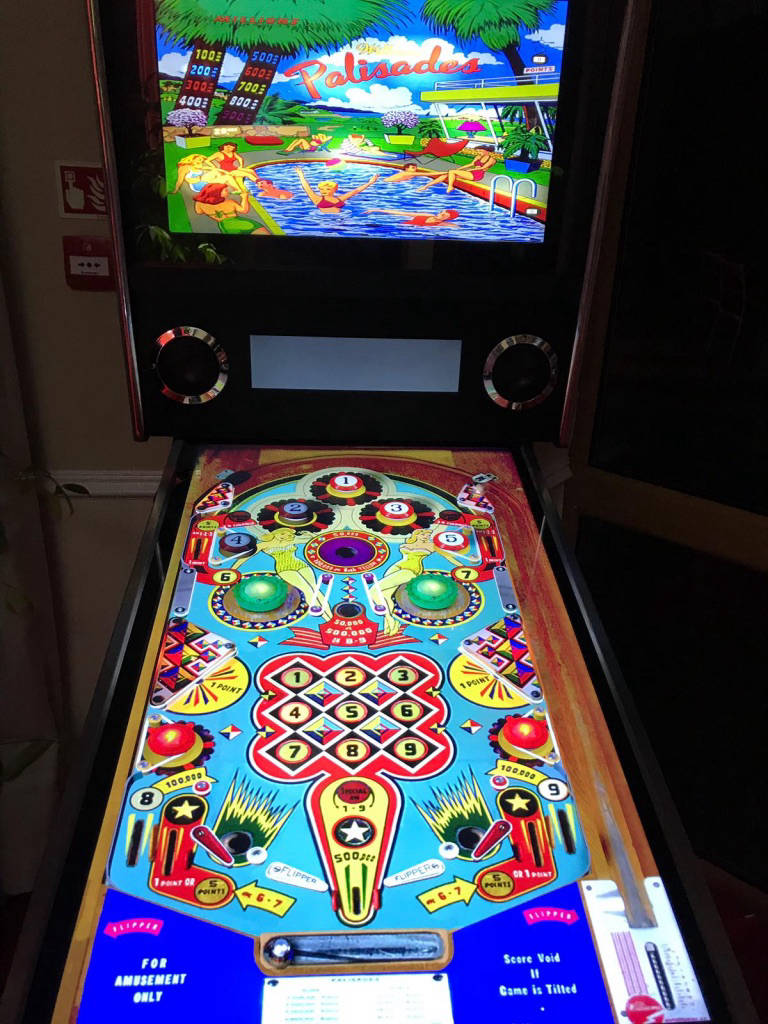 Corporate pinball hire