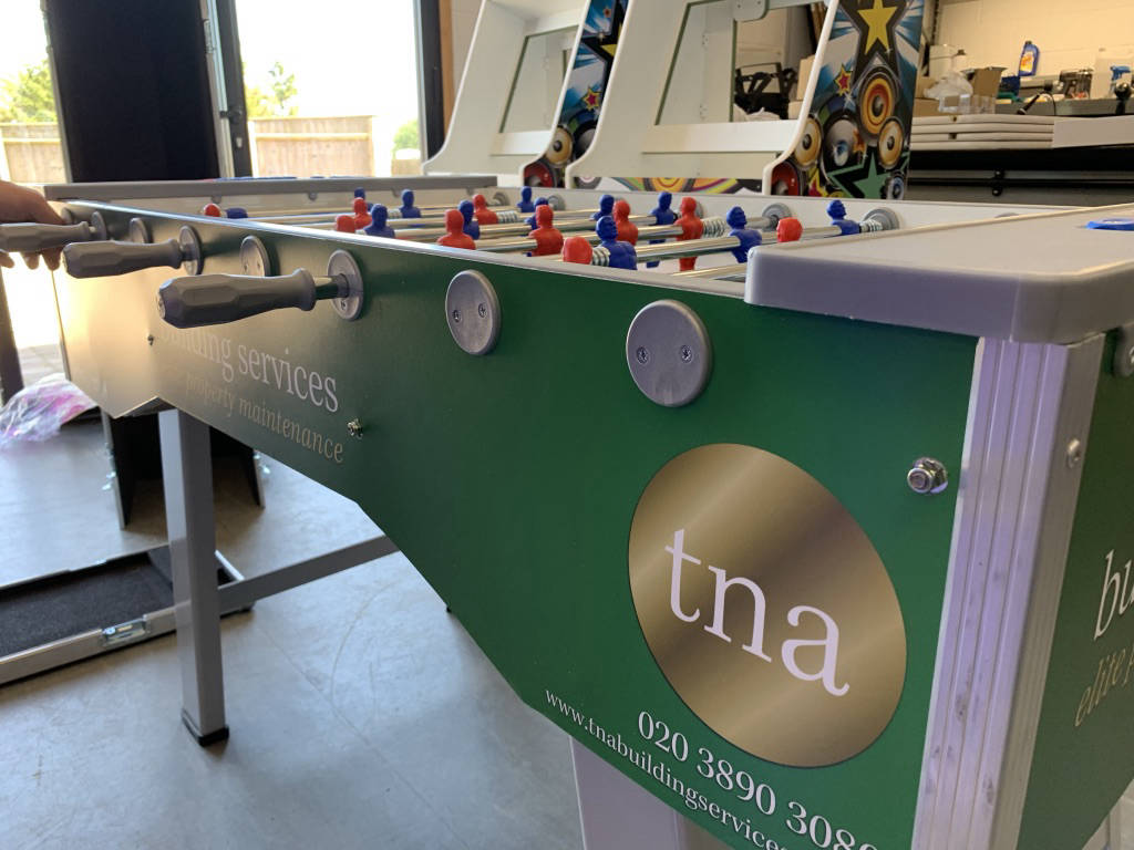 table football tables to rent