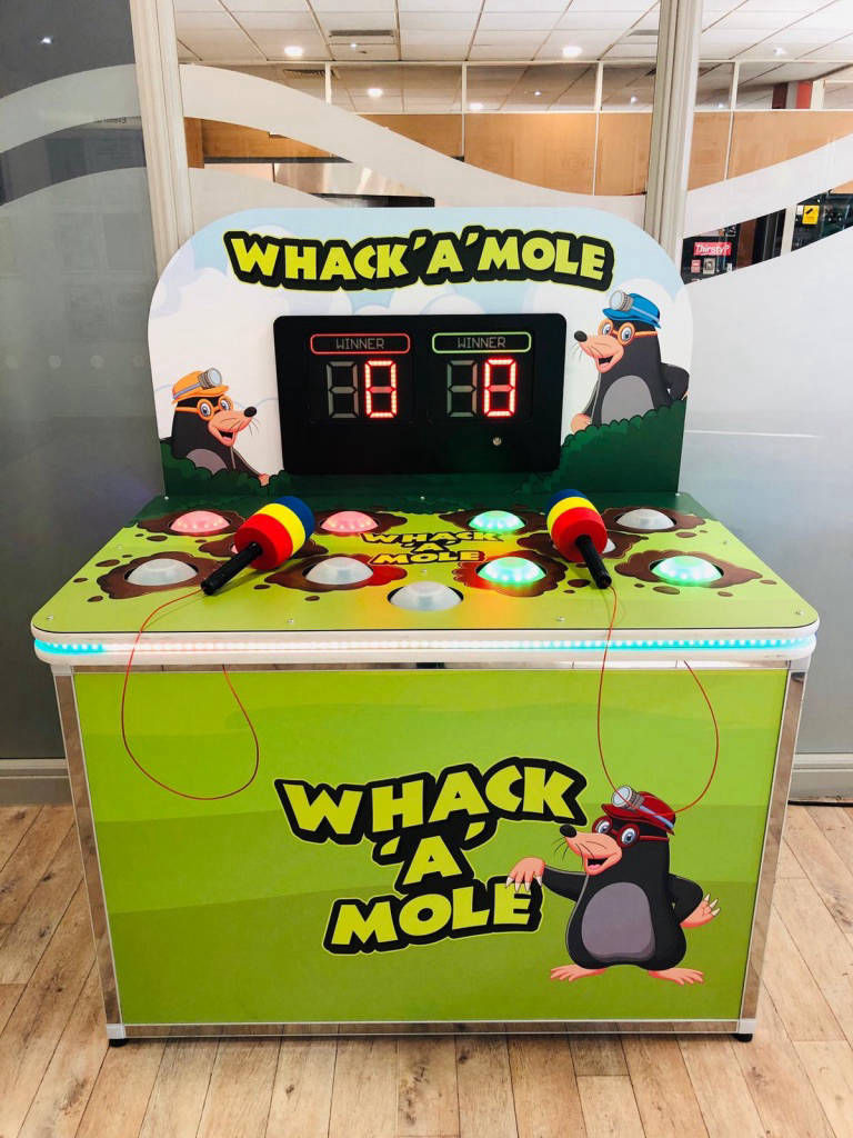branded whack a mole
