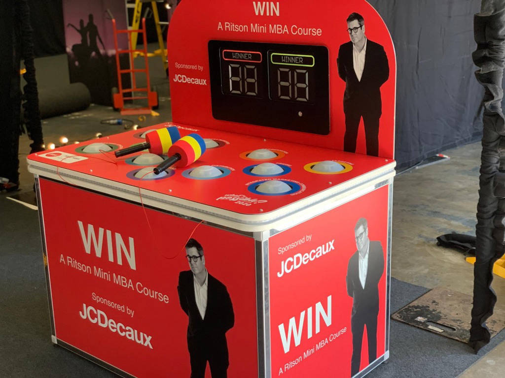 Branded whack a mole game hire
