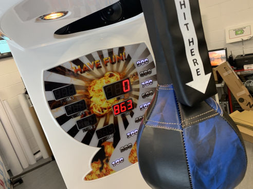 Boxing machine hire