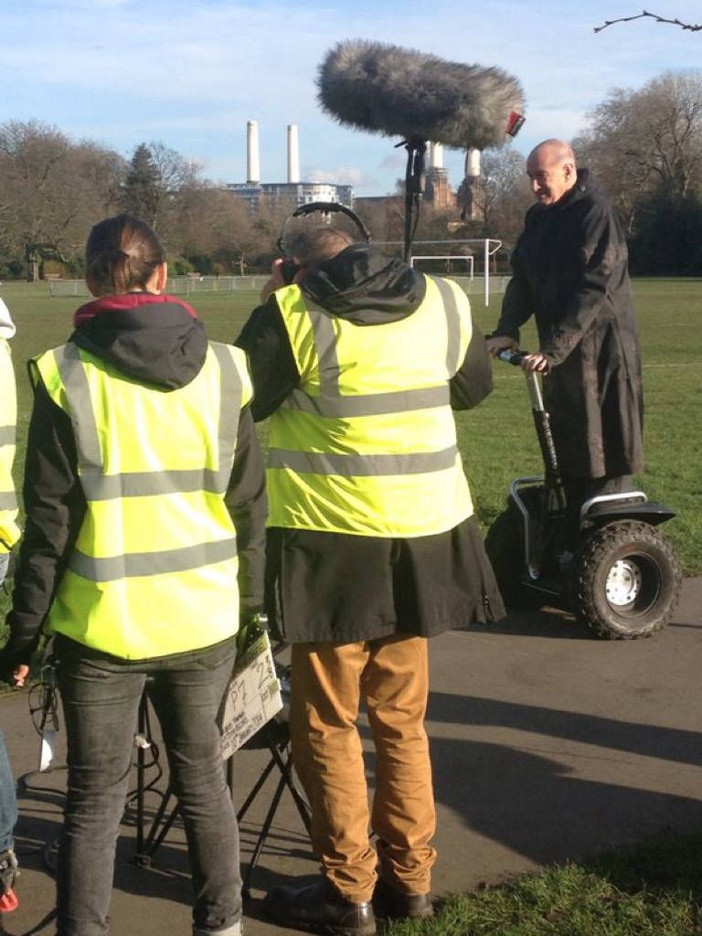Segway filming hire