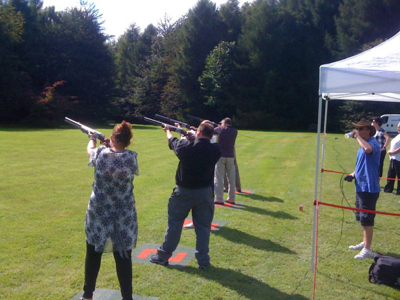 Lasersport clay shooting