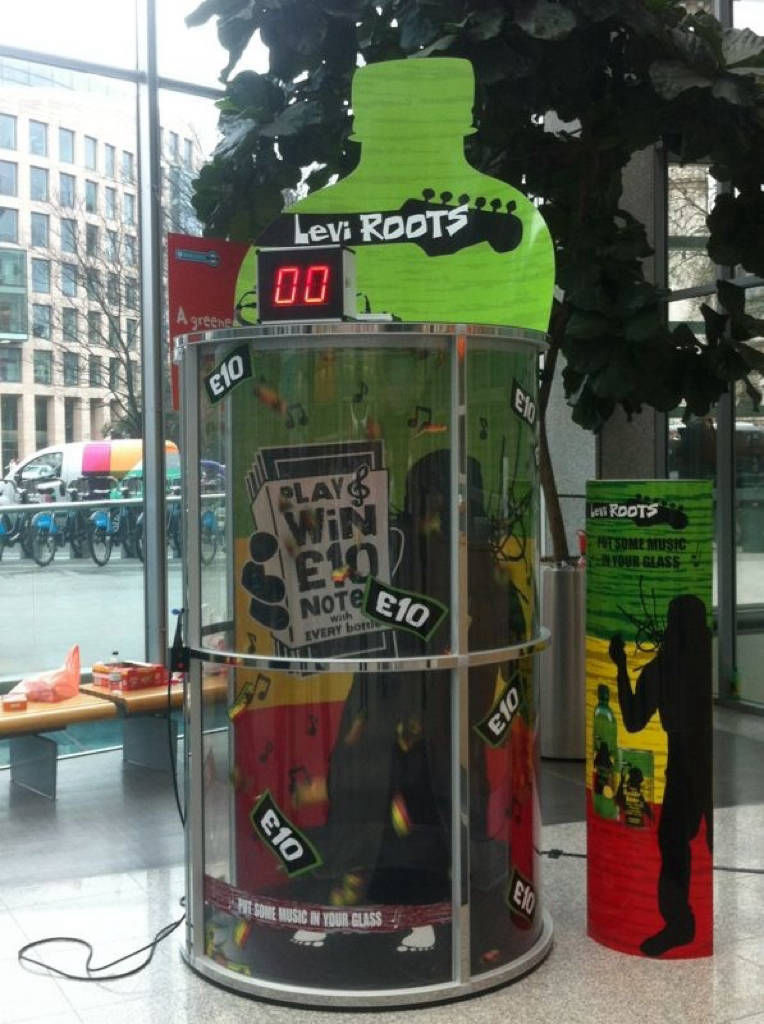 Hire cash grabber machine