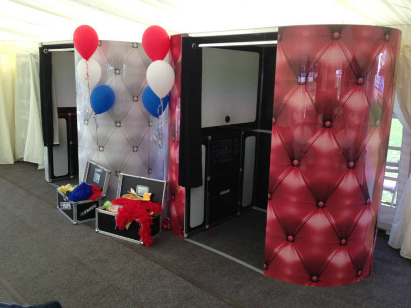 Photo and video booth
