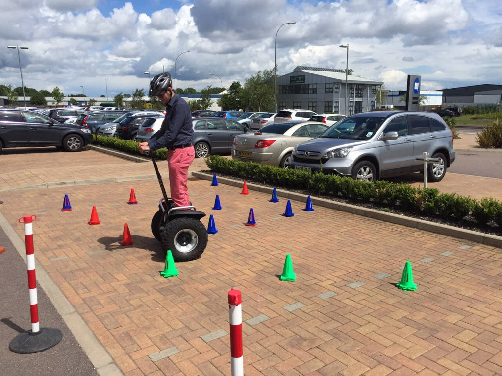 Segway hire oxford