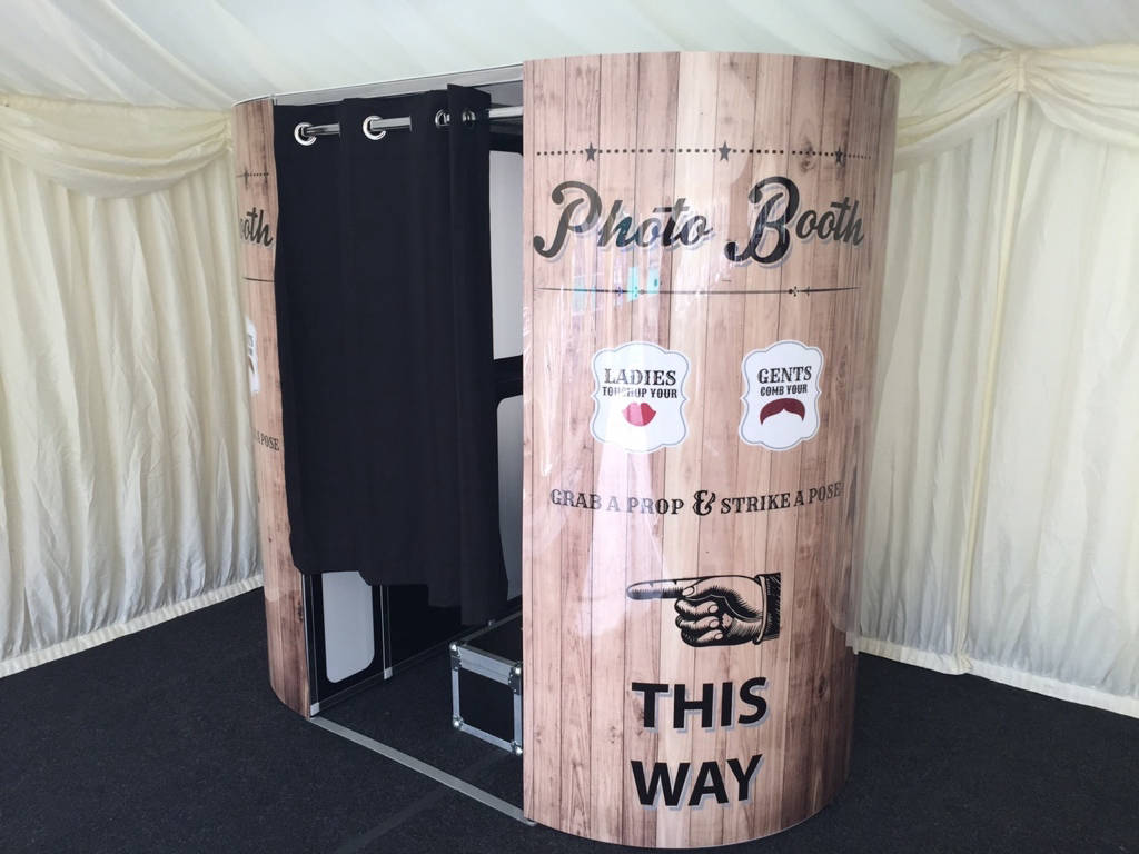 Hire video photo booth